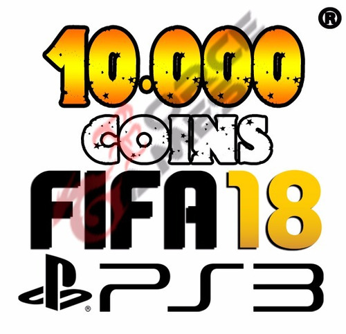 10.000 coins fifa 18 ps3 ultimate team - playstation 3