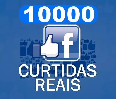 Ter 10 mil curtidas no fb
