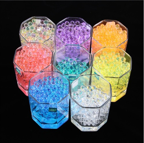 10000 unids/bolsa perla forma de cristal gel bio hidrogel20%