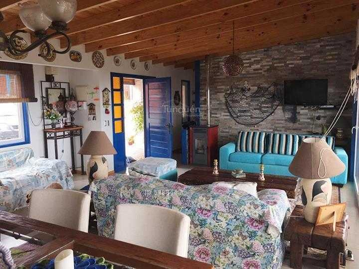 $100.000 por noche. casa con vista al mar, camino tunquén, algarrobo.