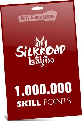 1.000.000 skill points silkroad latino