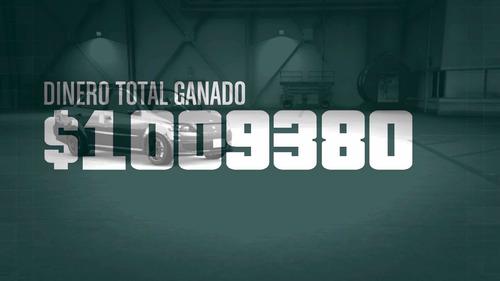 1,000,000 (un millón en gta online) ps4