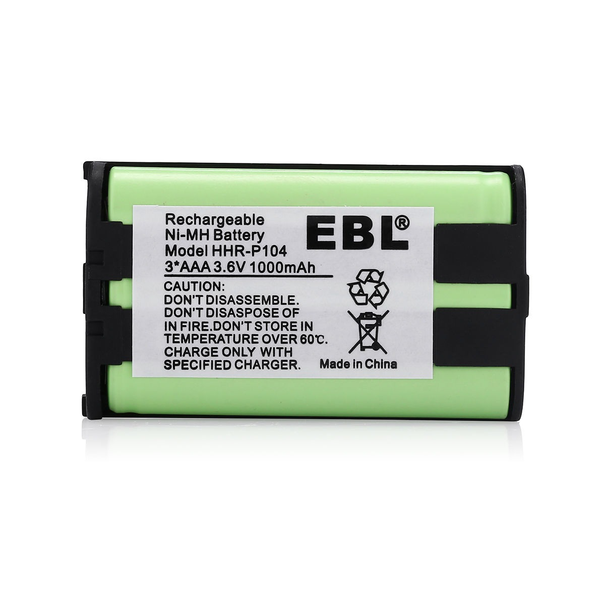 Inalambrico Movil Bateria Ni-MH Battery Para PANASONIC HHR-P104 HHRP104