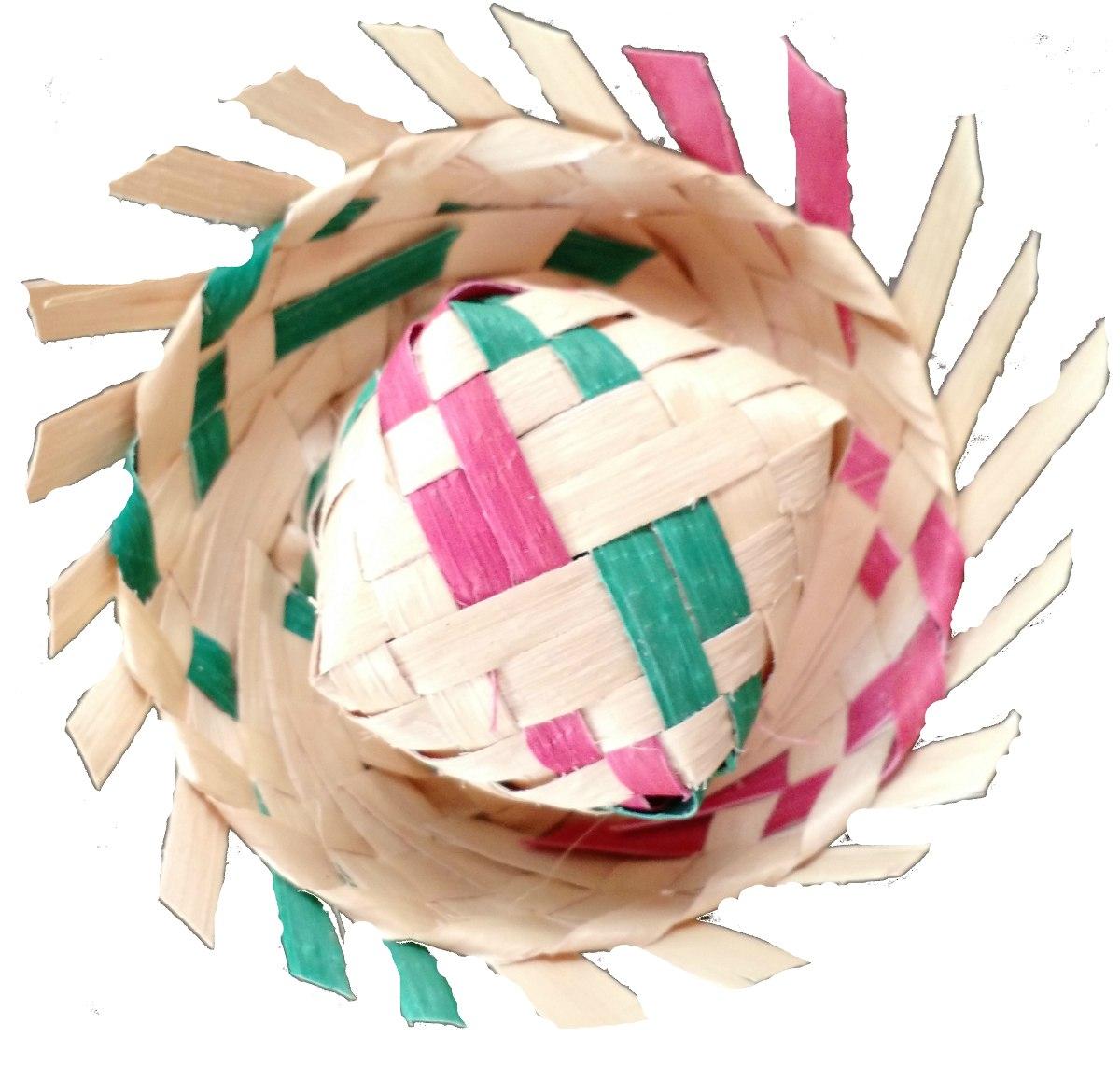 1000mil mini chapéu de palha colorido enfeite festa junina. Carregando zoom. b226e3bc0fe