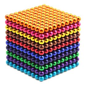 1000pcs 5mm Bola Magnética Set Magic Magnet Cube Building To