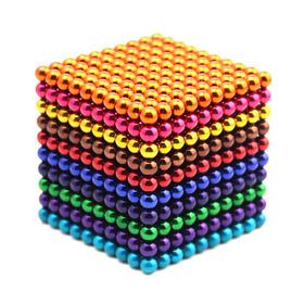 1000pcs 5mm Juego De Bolas Magnticas Magic Magnet Cube Toy