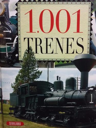 1001 trenes - servilibro - tapa dura