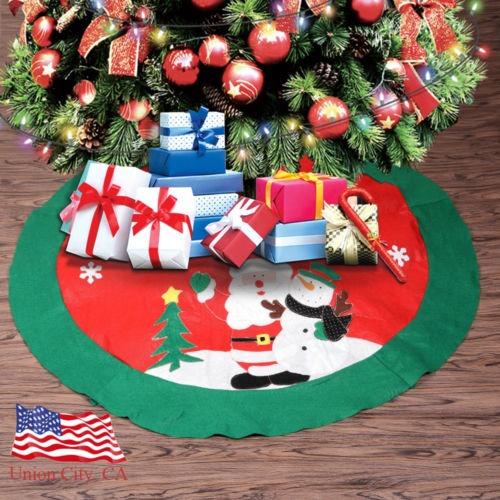 100cm Vintage Santa Claus Muneco De Nieve Arbol De Navidad F - Vintage-navidad