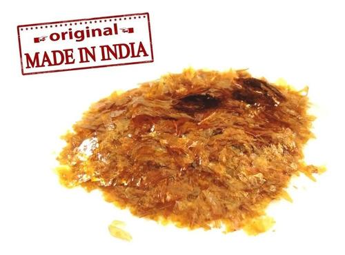 100gr goma laca indiana original asa de barata fundo pintura