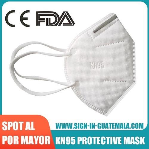 100pcs ce fda registered kn95 protective face mask