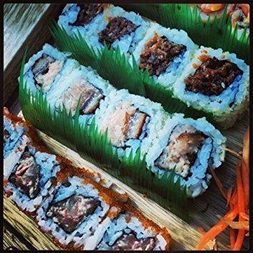 100pcs japón sushi decoration anti bacterial long baran gras