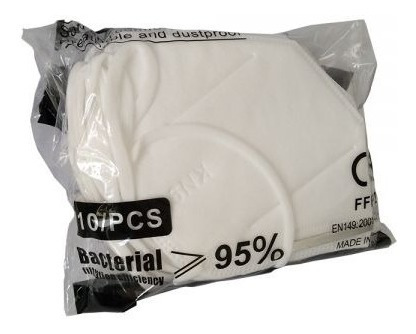 100pcs kn95 self-priming filter type protective face mask
