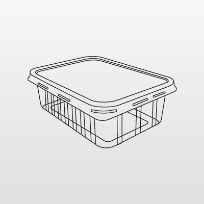 100un pote marmitex 500ml c tampa freezer microondas sem bpa