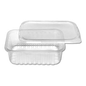 100unid Embalagem Microondas E Freezer 500ml Marmita Fitness