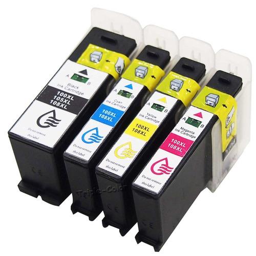 100xl 8 cartucho de tinta para lexmark pinnacle pro901