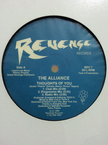 101 alliance - thought of you