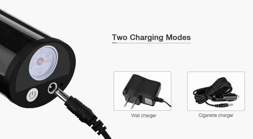 101-d3 150 psi portátil recargable eléctrico aire inflador