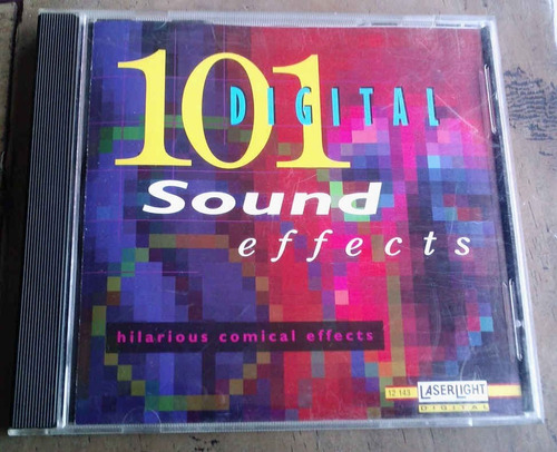 101 digital sound effects hilarious comical cd made in usa