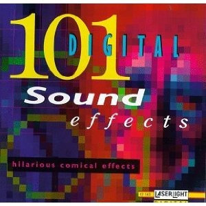 101 digital sound effects : hilarious comical effects