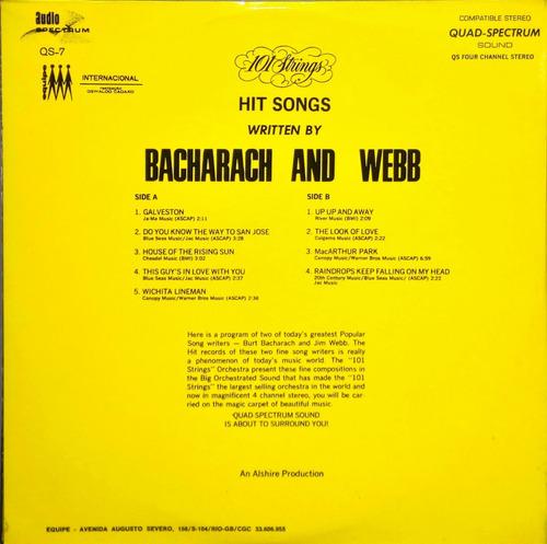 101 strings lp bacharach and webb 4 canais 11377