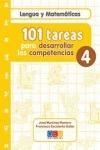 101 tareas para desarrolar las competencias. cuaderno 4 jos
