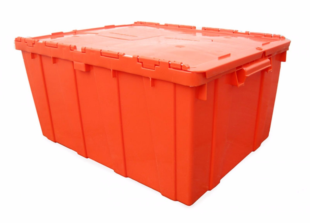 1016 caja de pl stico bisagras medidas cm 60 50 30 - Cajas de plastico ...