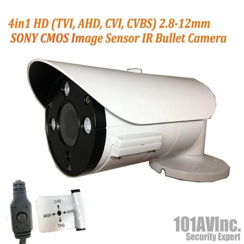 101av 800tvl bullet camera 1-3 -inchsony super had ii ccd dc