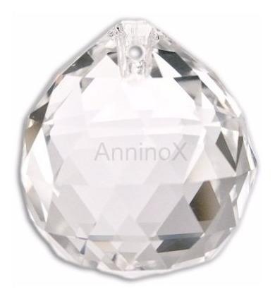 102 esferas de cristal lapidado 30mm p/ lustres e home decor