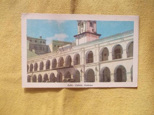 1022- postal salta. cabildo historico