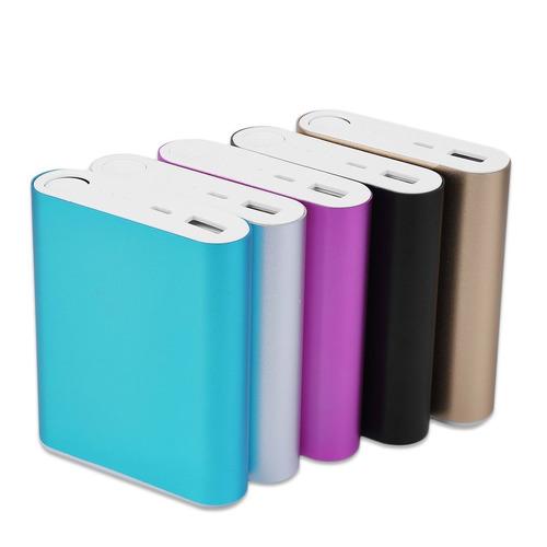 10400mah usb externo backup bateria carregador 4 * 18650 bat