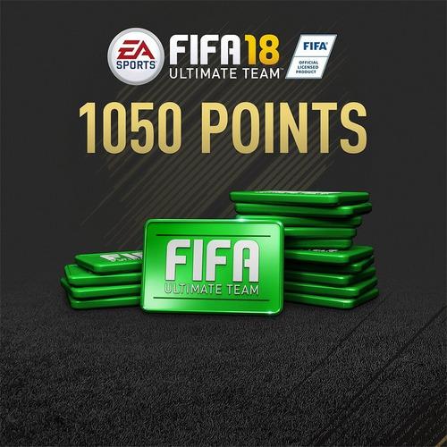 1.050 fifa points para fifa 18 ps4 (código digital)