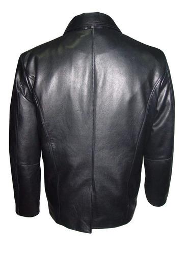 1058 men four season couro wearable blazer jacket zip out qu