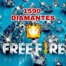 1060 Diamantes Free Fire + 530 Diamantes De Bonus