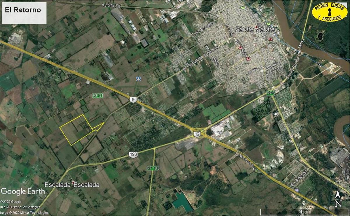 1060ga-116 has zarate agricolas s/ruta