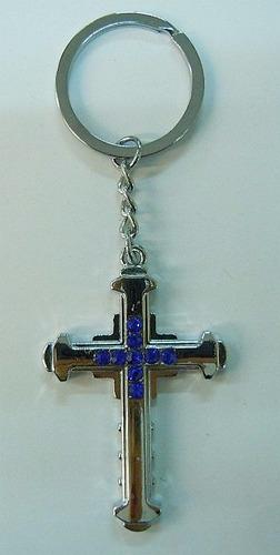 106478 - chaveiro cruz azul 10 pcs