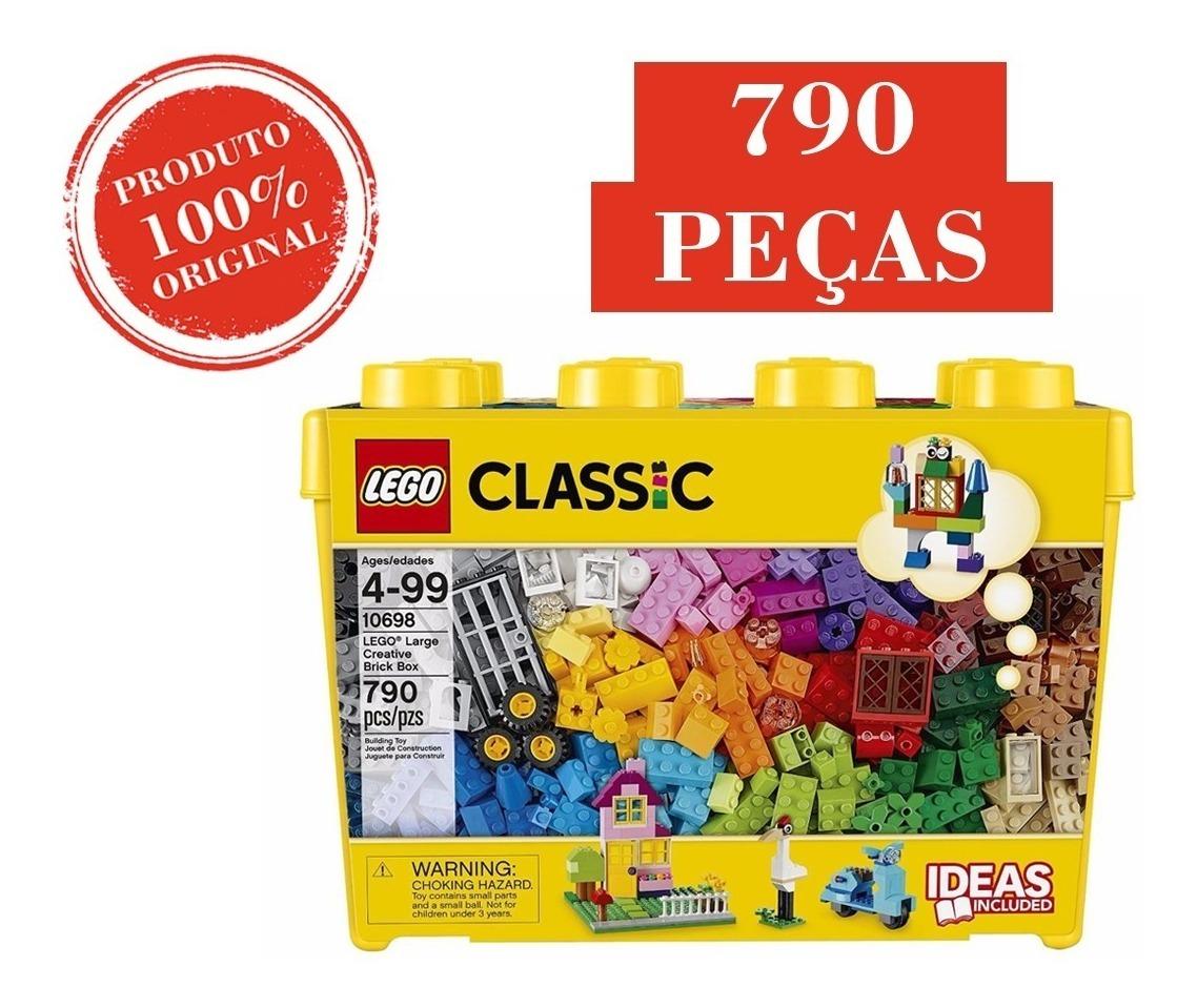 10698 Lego Classic - Caixa Grande De Peças Criativa