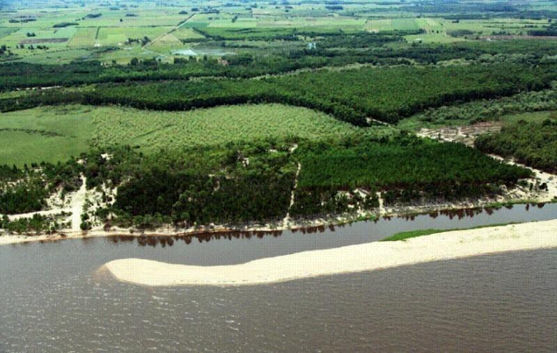 1.070 has., con 3 km de costa y playa sobre río de la plata, uruguay
