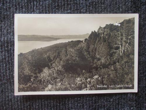 1072- postal lago nahuel huapi, bariloche, rio negro