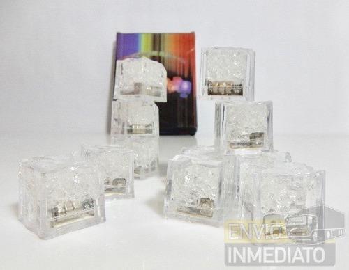 108 pzas. led rgb colores tipo hielo sumergible
