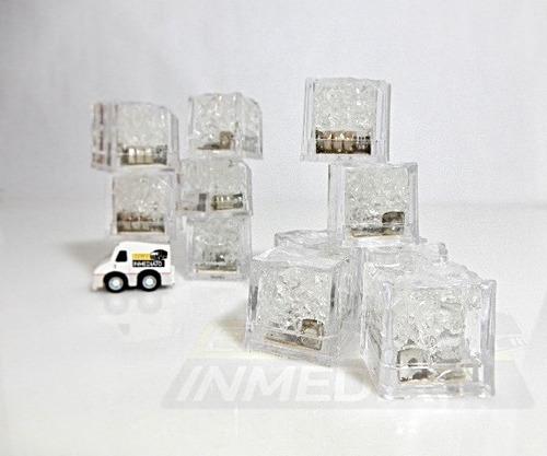 108 pzas. led rgb colores tipo hielo sumergible hielos