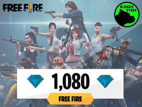 1080 Diamantes Free Fire @ En El Día - Sabados Y Domingos On