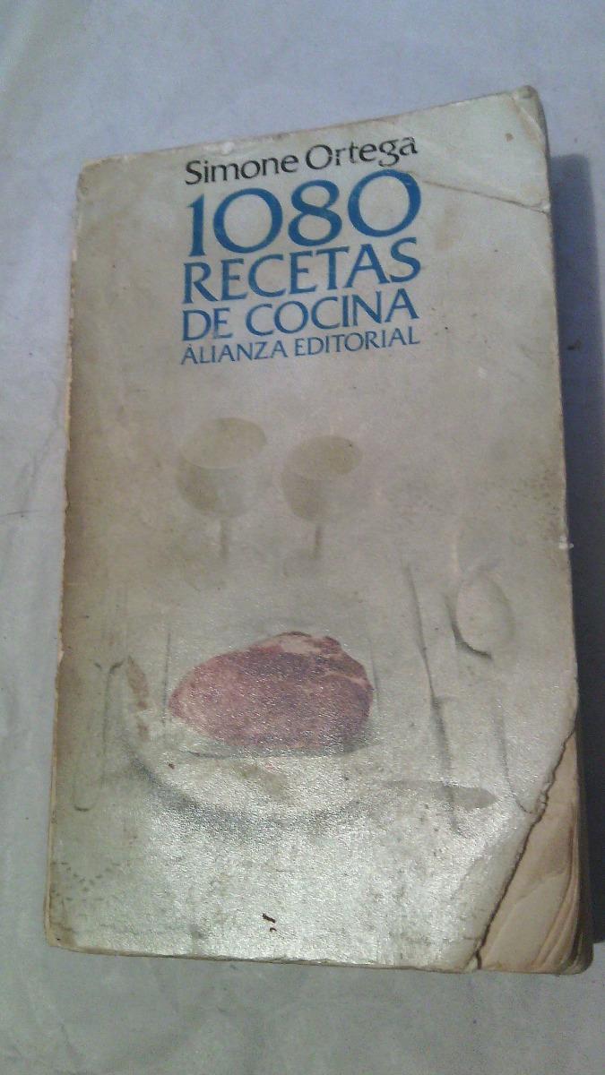 1080 Recetas De Cocina De Simone Ortega | 1080 Recetas De Cocina Simone Ortega 140 00 En Mercado Libre