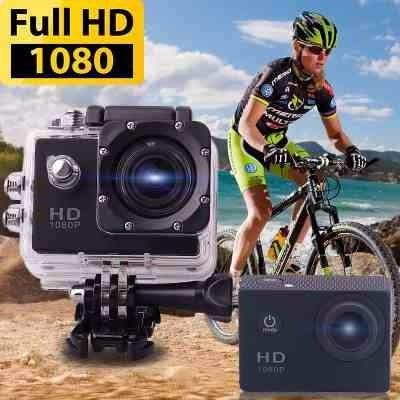 1080p 720p camara deportes sport cam sumergible 30m 1.5lcd