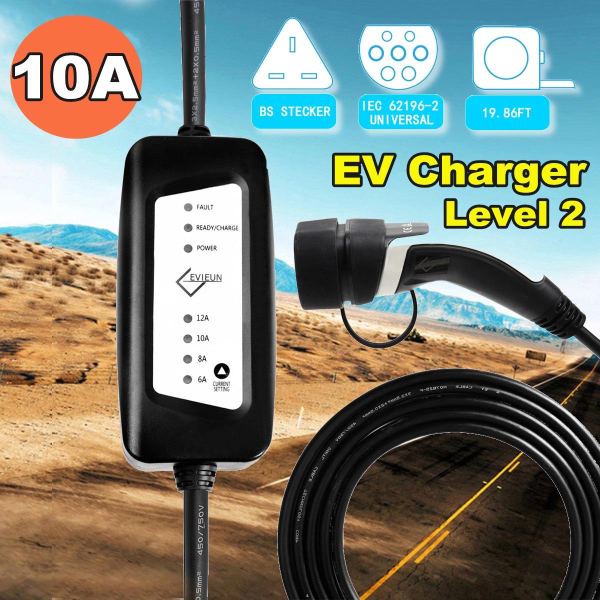 BMW i8 5M portátil evse Cable de carga cargador de línea en Reino Unido 3 Pin Enchufe