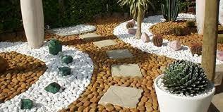 10kg Pedras Para Jardins Seixo Branco Decoração Em Vasos R 44