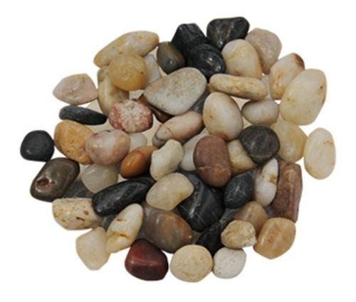10kg piedra de rio decorativa aluzza