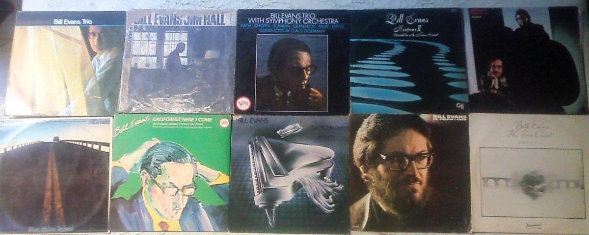 10lps Lote Bill Evans Solo E Trio 60s,70s,80s 10 Albuns