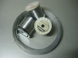 10m de alambre nichrome 0.6 mm para segelin, isopor,telgopor