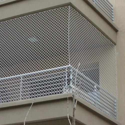 10m2 red para balcon dacron 1,2mm malla proteccion uv paloma