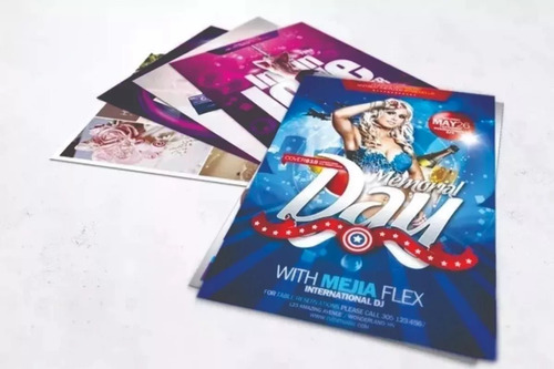10mil panfletos 10x14 colorido frente e verso arte grátis